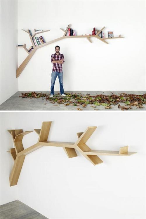 Branch-bookshelf