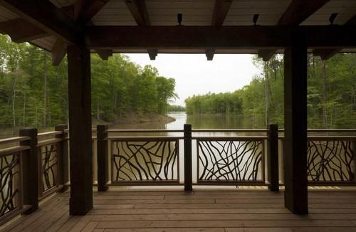 Lake-deck-railings