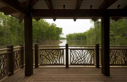 Lake Deck Railing Wood Railing Blog