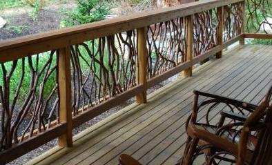 decorative deck railings.  Idea for Deck Railing Wood Blog